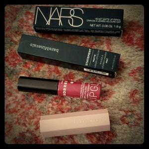 Lot of 4 lipsticks - new from sephora